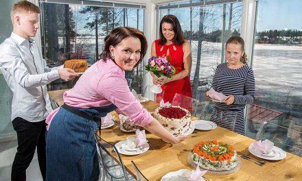 Burtsowin leivonnaisissa maistuu koti