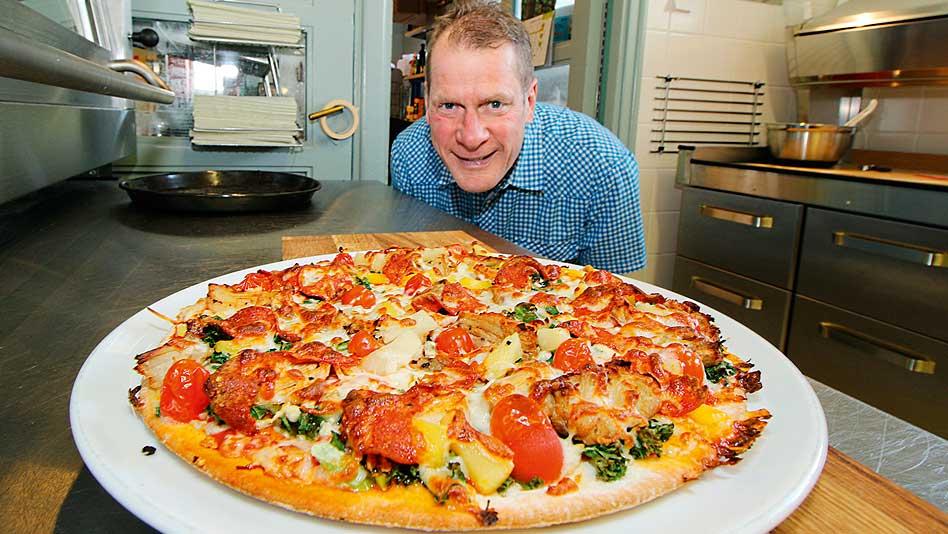 Pizzeria Väinö löytyy rautatieasemalta