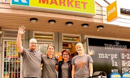K-Market Lohiranta  palvelee suurella sydämellä