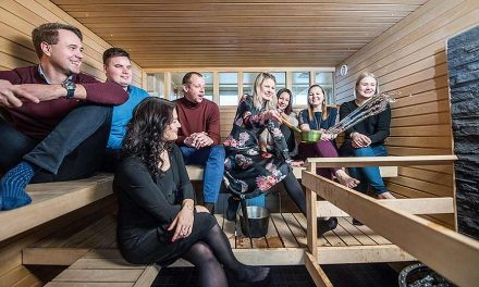 Luovia löylyjä keskellä Kuopiota