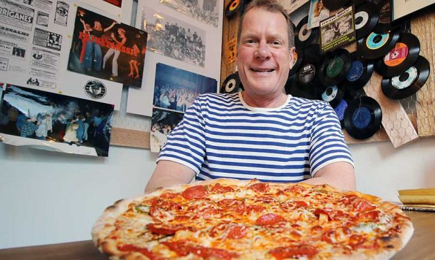 Väinön pizza svengaa