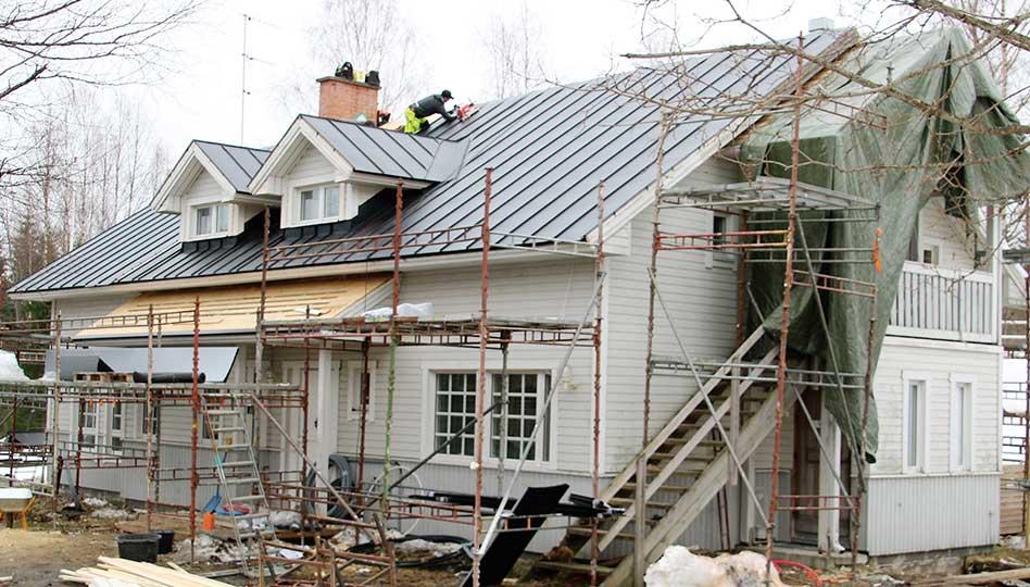 Kattojen päivitys tuo uuden elämän rakennuksille