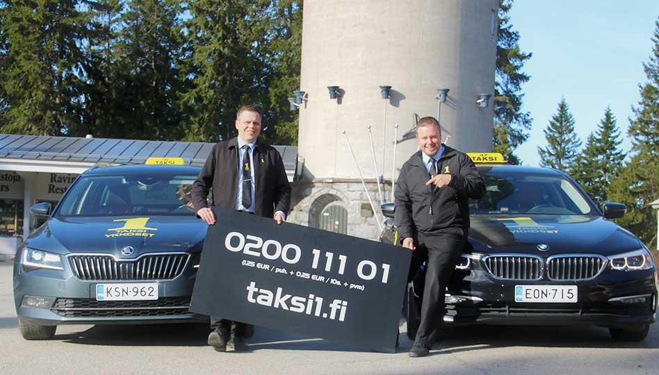 Taksiykkönen tuo turvallisesti perille