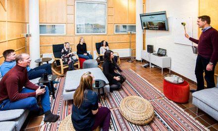 Luovia löylyjä ja tehokkaita kokouksia