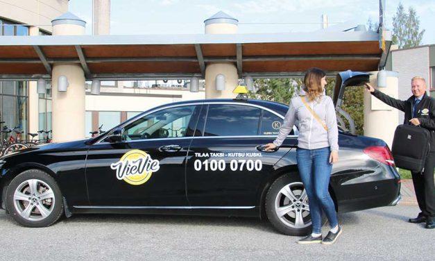 Tilaa taksi – kutsu kuski appia painamalla!