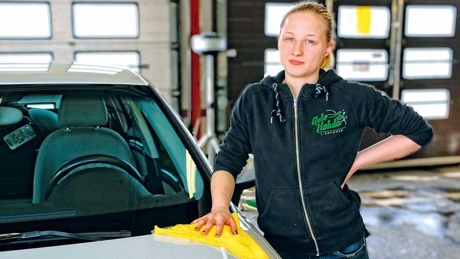 Kestävää puhtautta autolle