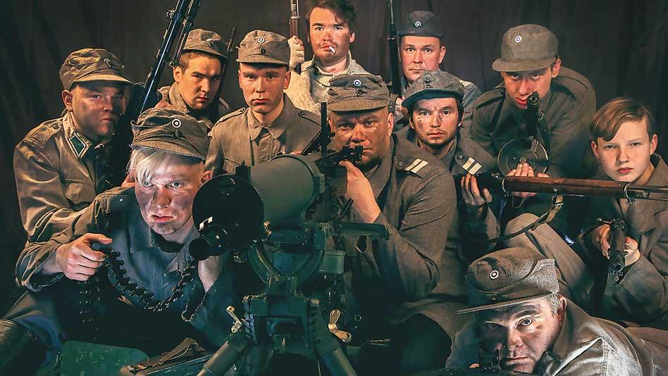 Kaunista ja koskettavaa  – Tuntematon sotilas Koljonvirta Teatterissa