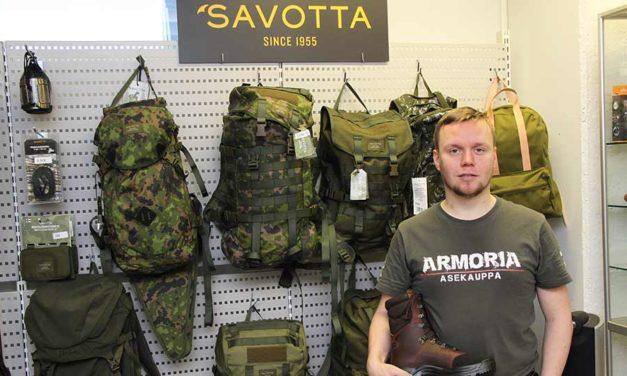 Armoria varustaa retkeilyyn ja erälle