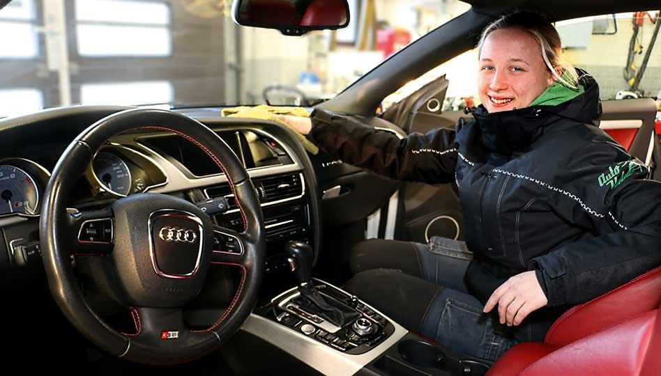 Turvallisuutta auton sisätilojen puhtaudella