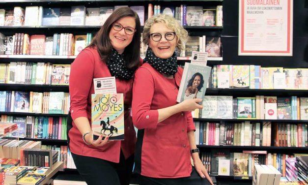 Suomalaisessa Kirjakaupassa  on lupa innostua!