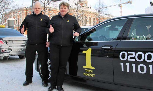 Taksiykköset kouluttavat luotettavia ammattilaisia