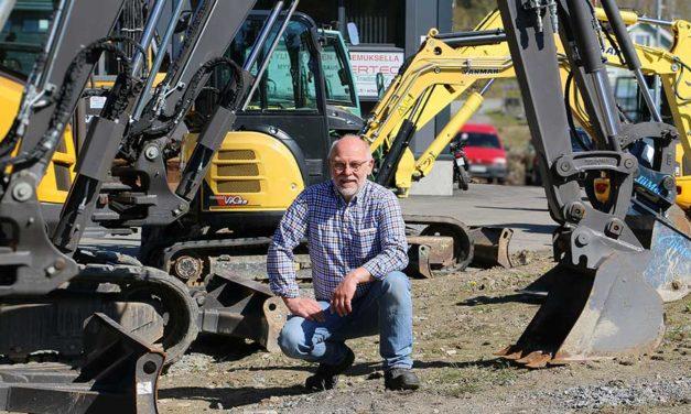 Ertec Oy on maanrakentajan luottokumppani