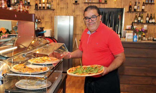 Galatassa herkullinen pizzabuffet