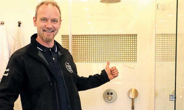 Kylpyhuone Laattapisteeltä takuutyönä