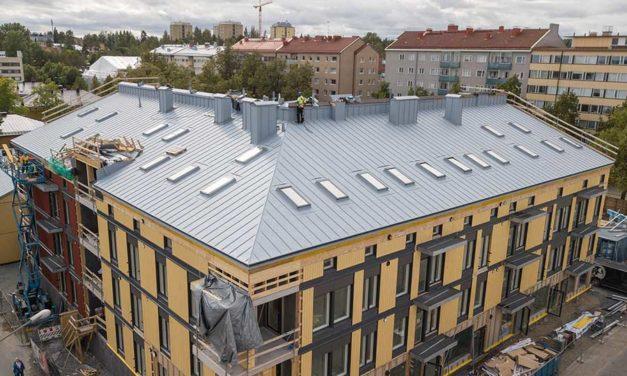 Iso tai pieni katto – räätälöidysti rakennettu