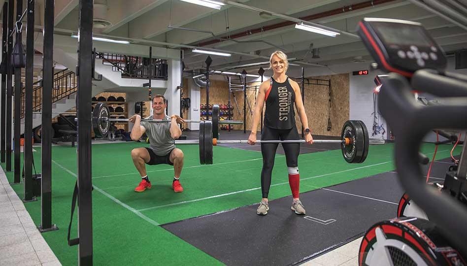 Toiminnallista crosstraining-harjoittelua koko keholle