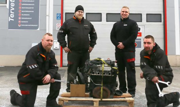 Savon Rengas  on myös Autofit-korjaamo