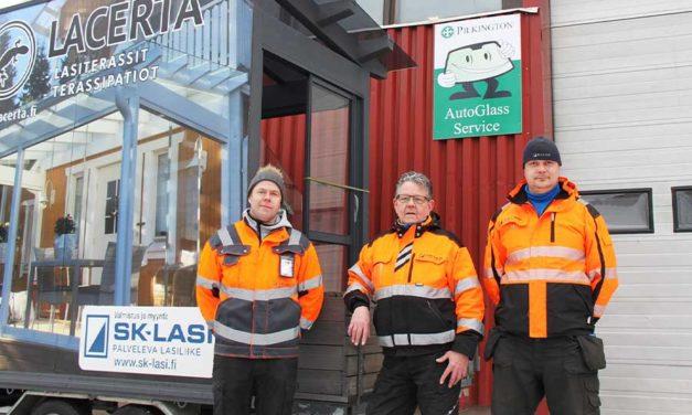 SK-Lasi palvelee Telkkistentiellä