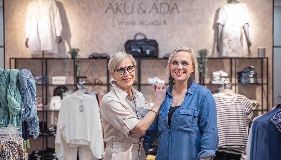 Aku & Ada on muuttanut Kuopioon