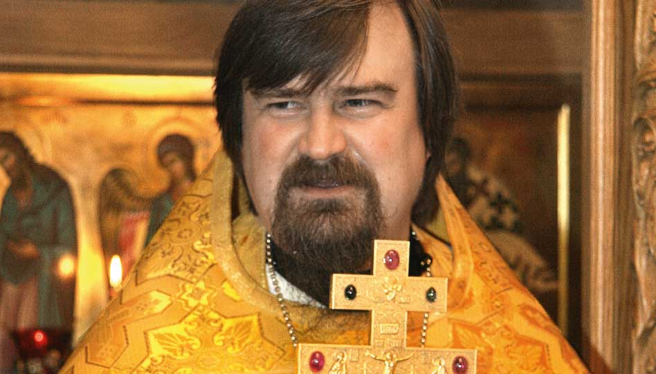 Valamon luostaria johtaa Arkkimandriitta Sergei