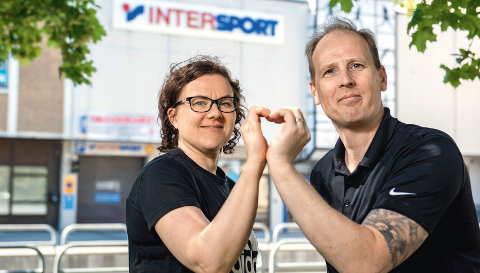 Intersport – rakkaudesta lajiin