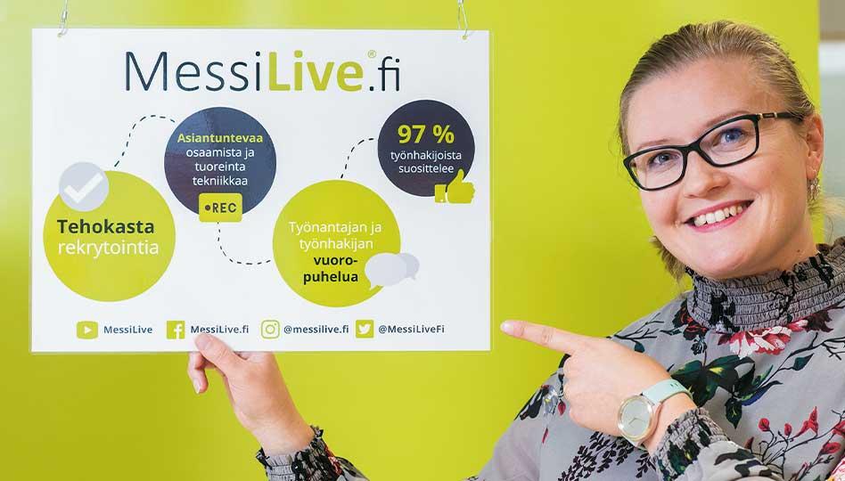 Messilive.fi – tehokasta rekrytointia