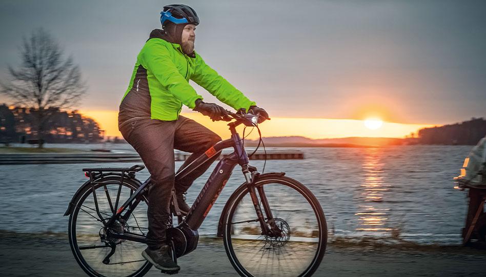 Pyörät pyörivät hyvin myös talvella