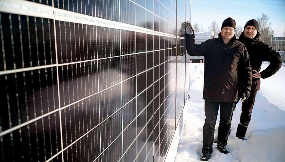 Aurinkosähköllä selvää säästöä