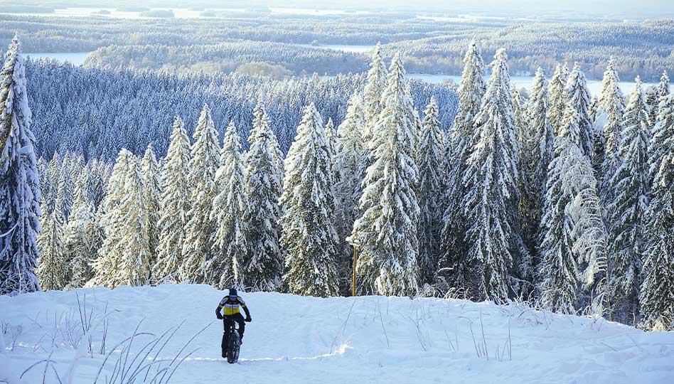 Maastopyöräily on myös talvilaji