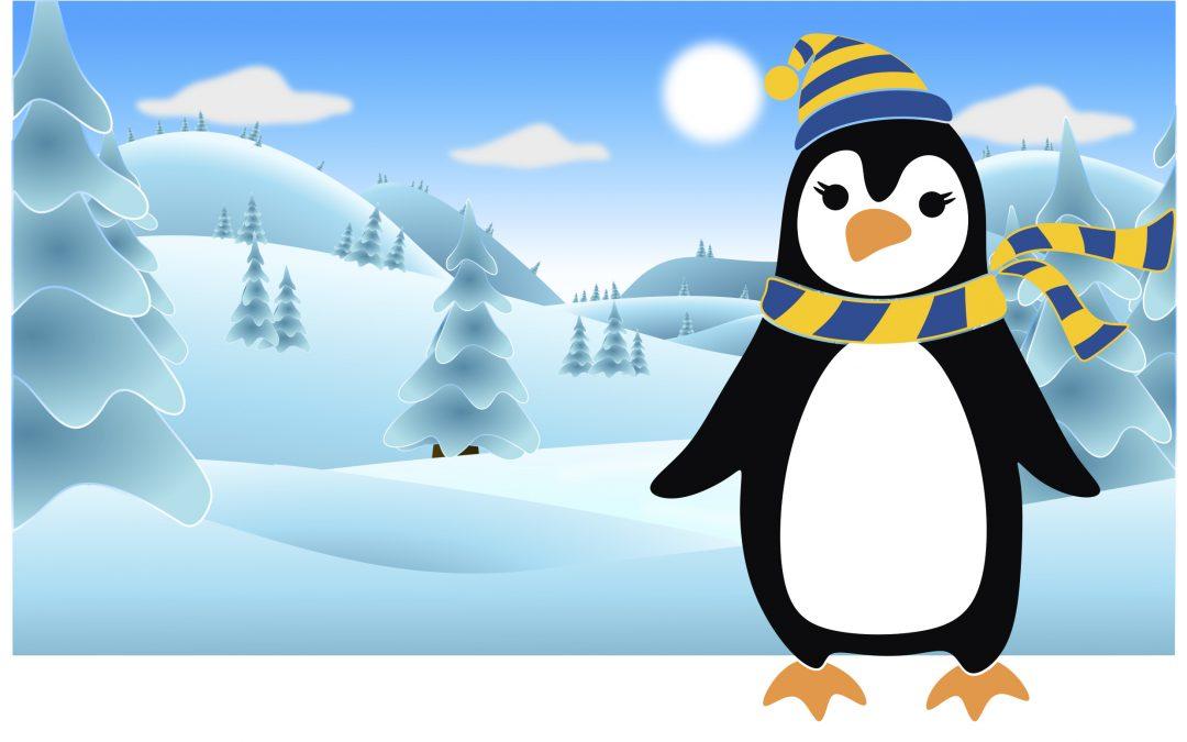 Piitu Pingviini talvilomalla
