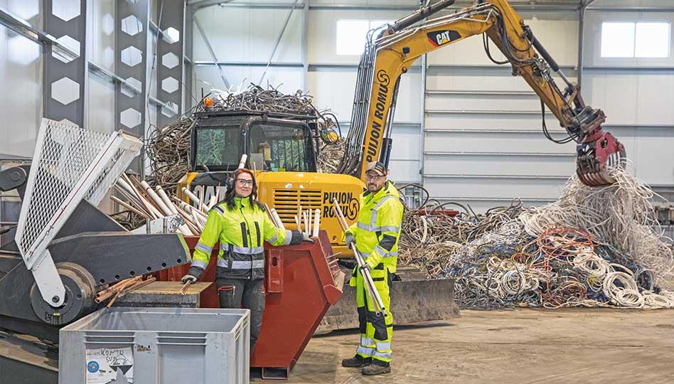 Kierrätystä ja ympäristötekoja