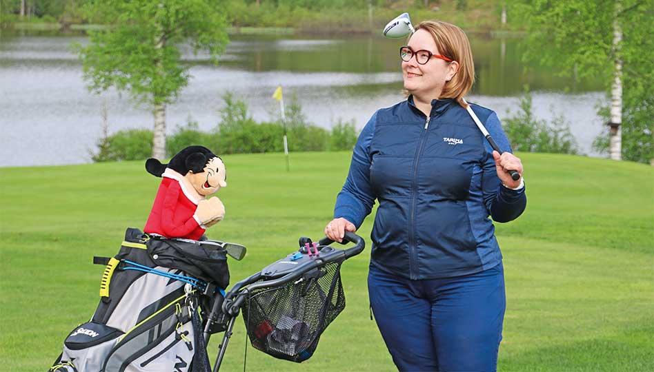Anna golfkärpäsen puraista